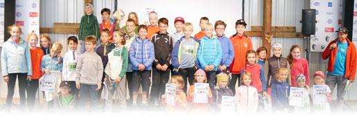 Siegerehrung Kinderstafette 2018